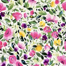 Fuchsia Decorator Fabric by Clarke & Clarke