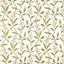 Pink/Apple Weave Decorator Fabric by Clarke & Clarke
