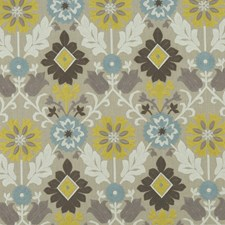 Mineral/Citron Weave Decorator Fabric by Clarke & Clarke