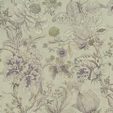 Heather/Olive Decorator Fabric by Clarke & Clarke