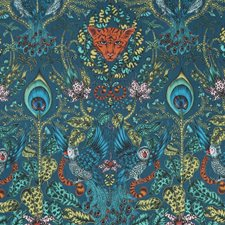 Navy Decorator Fabric by Clarke & Clarke