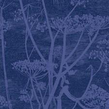 Hyacinth/Ink Botanical Decorator Fabric by Cole & Son