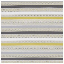 Chartreuse/Charcoal Weave Decorator Fabric by Clarke & Clarke