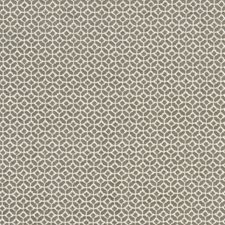 Mocha Geometric Decorator Fabric by Clarke & Clarke