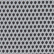 Noir Geometric Decorator Fabric by Clarke & Clarke