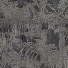 Charcoal Decorator Fabric by Clarke & Clarke