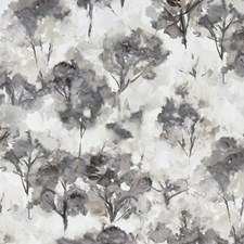 Charcoal Decorator Fabric by Clarke & Clarke