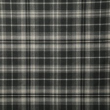 Charcoal Check Decorator Fabric by Pindler