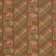 Pink/Green Print Decorator Fabric by Mulberry Home