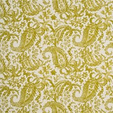 Lime Print Decorator Fabric by Mulberry Home