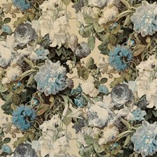 Sage Botanical Decorator Fabric by Mulberry Home