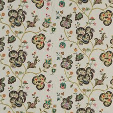 Multi Embroidery Decorator Fabric by Mulberry Home