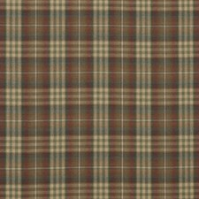 Red/Green Check Decorator Fabric by Mulberry Home