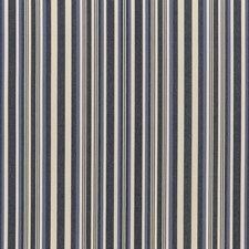 Indigo/Ivory Weave Decorator Fabric by Mulberry Home
