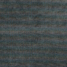 Teal/Indigo Chenille Decorator Fabric by Mulberry Home