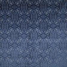 Lapis Damask Decorator Fabric by Pindler