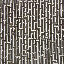 Black/Taupe Decorator Fabric by Scalamandre