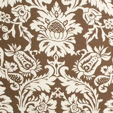 Cocoa Print Decorator Fabric by Lee Jofa