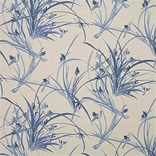 Periwinkle Botanical Decorator Fabric by Groundworks
