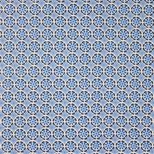 Blues Print Decorator Fabric by Groundworks