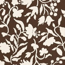 Chocolate Modern Decorator Fabric by Groundworks