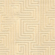 Ivory Modern Decorator Fabric by Groundworks