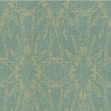 Aqua Modern Decorator Fabric by Groundworks