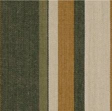 Gold/Sepia Stripes Decorator Fabric by Groundworks