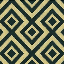 Navy Geometric Decorator Fabric by Groundworks