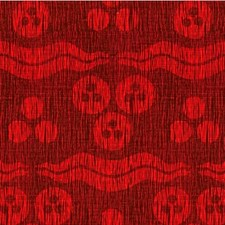 Ruby Modern Decorator Fabric by Groundworks