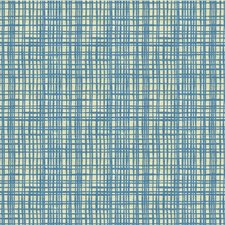 Cornflower Modern Decorator Fabric by Groundworks