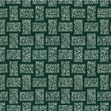 Seaweed Geometric Decorator Fabric by Groundworks