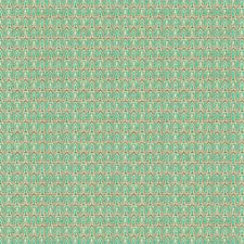 Aqua Geometric Decorator Fabric by Groundworks