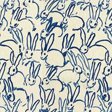 Navy Animal Decorator Fabric by Groundworks