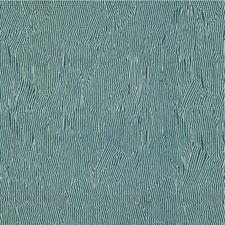 Blue/Off White Modern Decorator Fabric by Groundworks
