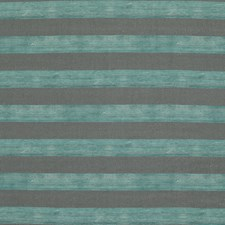 Slate/Jade Stripes Decorator Fabric by Groundworks