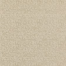 Ivory/Taupe Modern Decorator Fabric by Groundworks