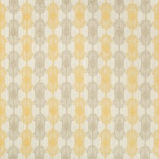 Gold Contemporary Decorator Fabric by Groundworks