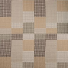 Moccasin Check Decorator Fabric by Groundworks
