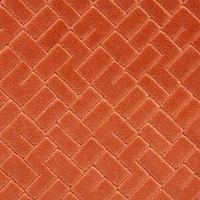Terracotta Decorator Fabric by Scalamandre