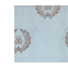Grey/Blue Decorator Fabric by Scalamandre