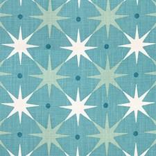 Aqua Decorator Fabric by Scalamandre