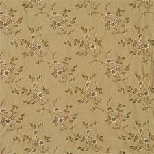 Bronze Silk Decorator Fabric by G P & J Baker