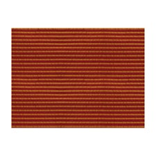 Red Brique Stripes Decorator Fabric by Brunschwig & Fils