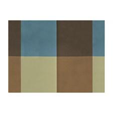 Brown Ancien Plaid Decorator Fabric by Brunschwig & Fils