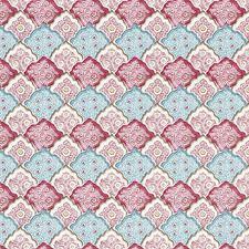 Peacock Rose Decorator Fabric by Scalamandre