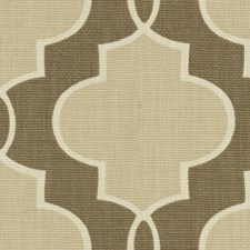 Brown/Beige Contemporary Decorator Fabric by Kravet
