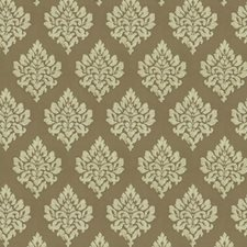 Oatmeal Damask Decorator Fabric by Baker Lifestyle