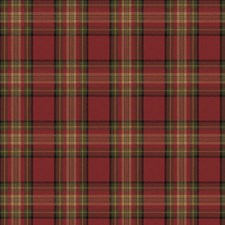 Red/Olive Decorator Fabric by Ralph Lauren