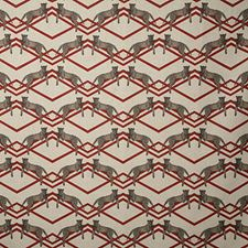 Rouge Print Decorator Fabric by Pindler